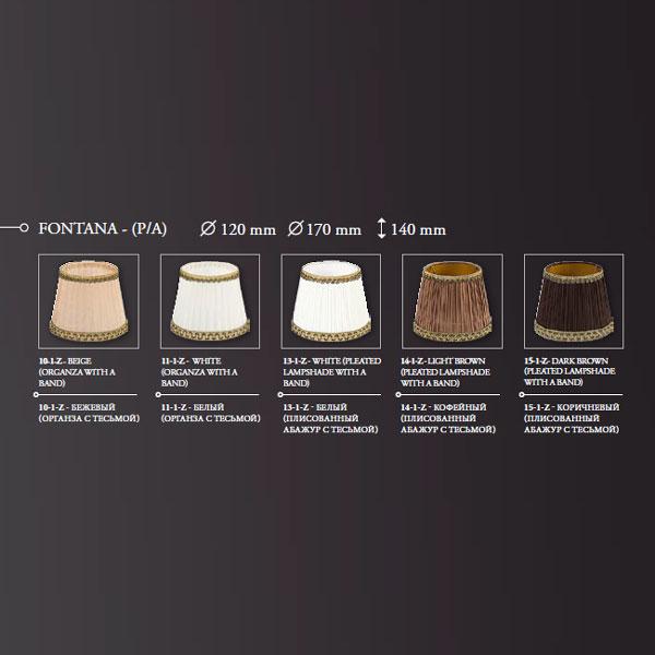 Настольная лампа Kutek Fontana FON-LG-1 (P/A)