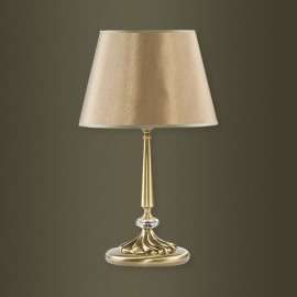 Настольная лампа Kutek San Marino Swarovski abażur SAN-LG-1 (P/A) SW